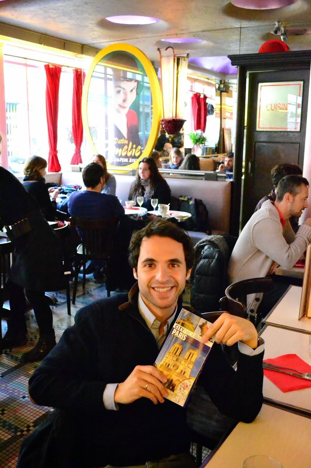 Cafe Deux Moulins, Amelie, Montmartre, Paris