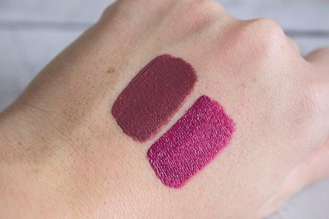 Rouge Sans Transfert Sephora Burnt Sienna et Cherry Nectar