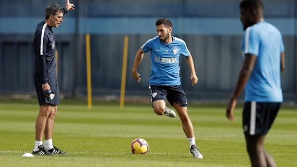 El Málaga arranca a las 10:15 horas el entrenamiento