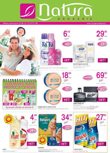 Drogerie Natura gazetka promocyjna 20.09 - 3.10.2012