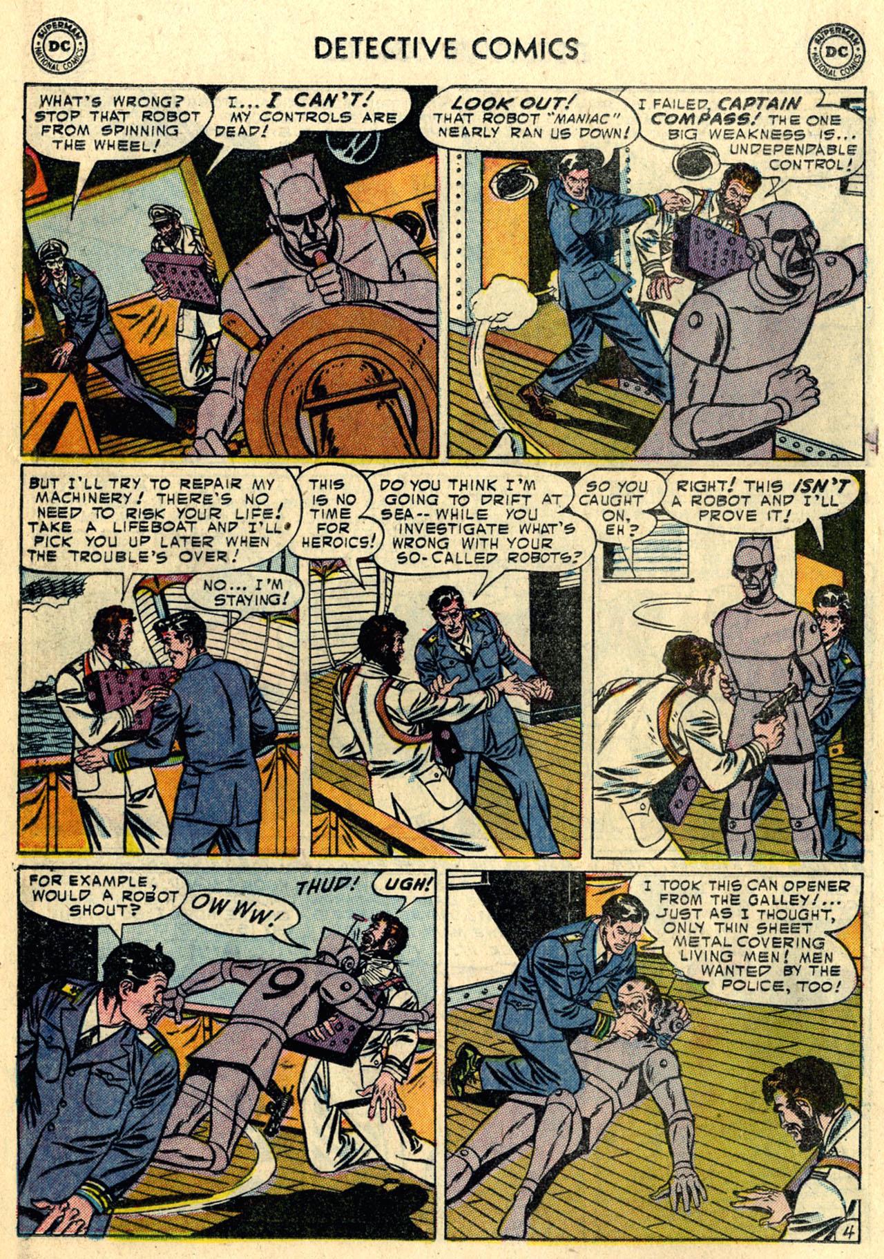 Read online Detective Comics (1937) comic -  Issue #216 - 20