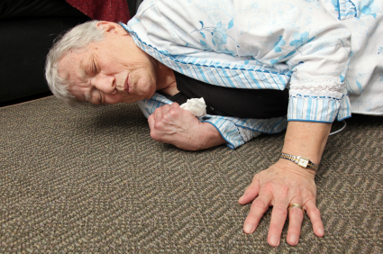Study suggests increase in falls among the elderly