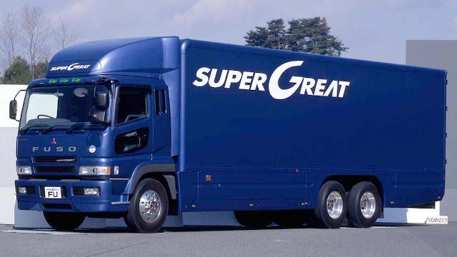 mitsubishi truk fuso super great istimewa