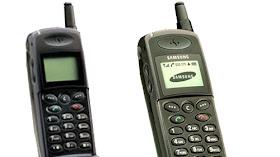Ponsel Pada Jaman Dulu