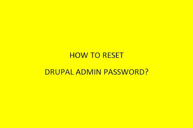 How to reset Drupal 8 administrator password using phpMyAdmin?