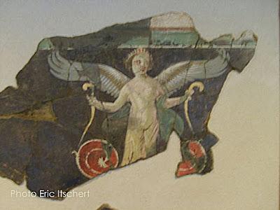 Voyage par Lyon, grotesques, fresques, candélabres, Vienne,