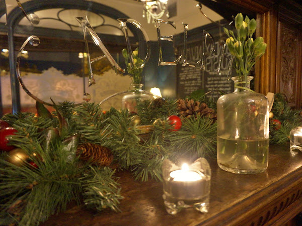 A cosy dinner at The Adelphi