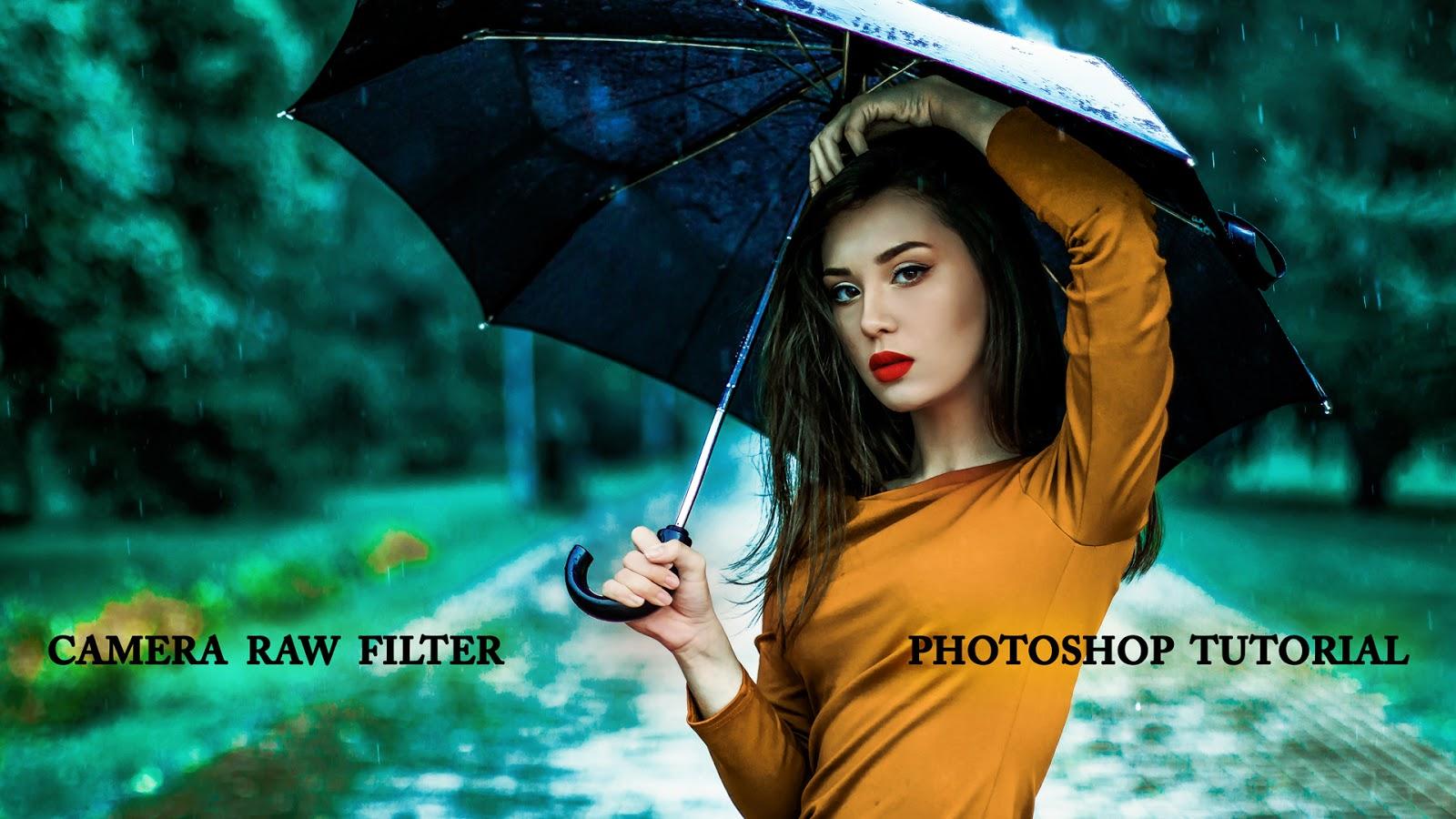 Lovely Photos using Camera Raw Filter Photoshop - Devil PSD