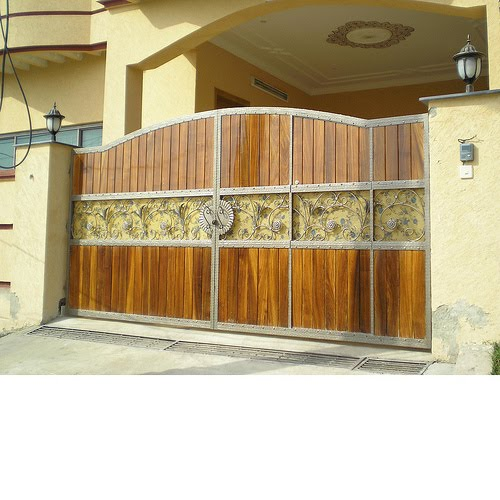 Home Design Gate Ideas: House And Home Designs: Main Gate, Wood