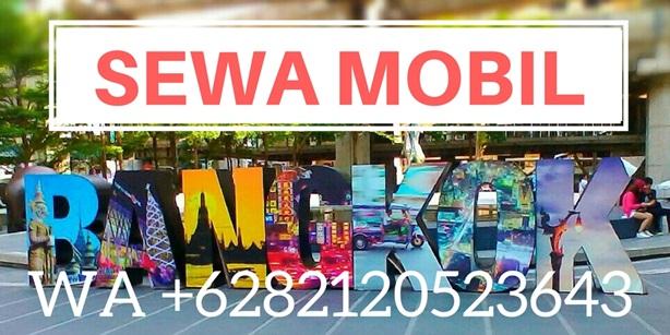 SEWA MOBIL & VAN DENGAN SUPIR DI BANGKOK PATTAYA HARIAN MURAH