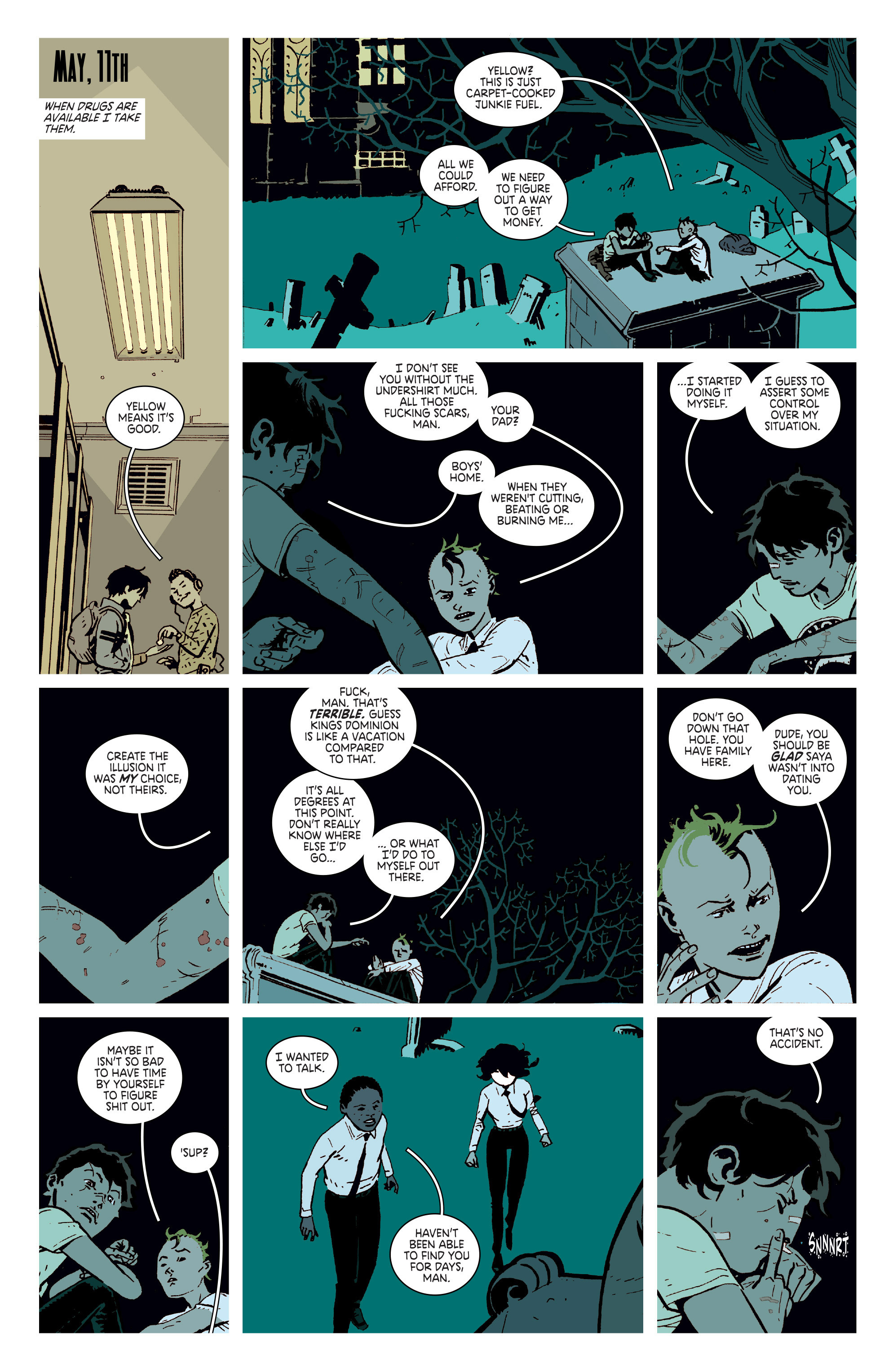 Read online Deadly Class comic -  Issue # _TPB 3 - 60