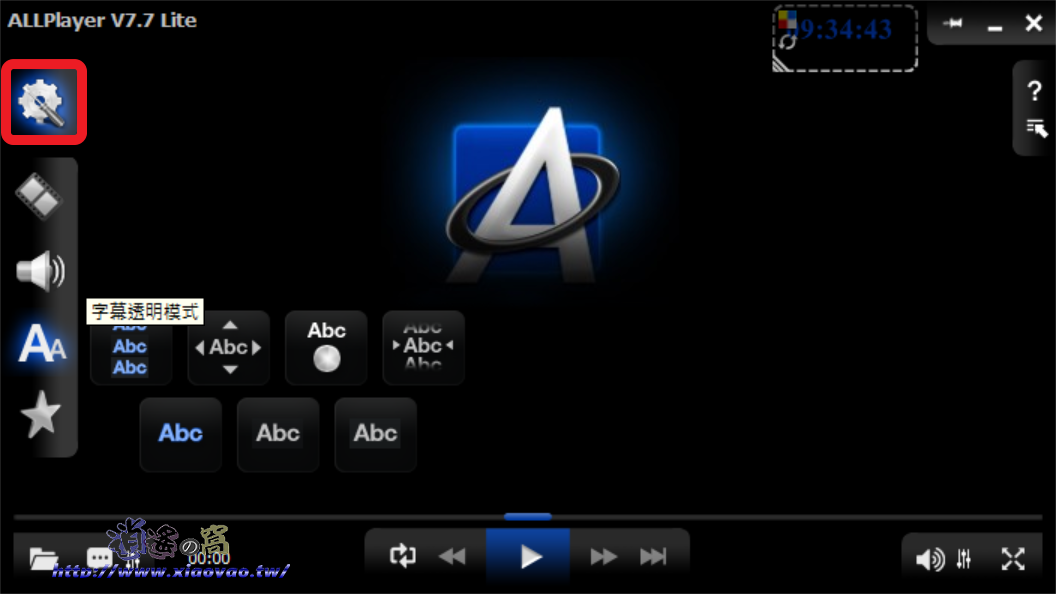 ALLPlayer 萬用多媒體播放器