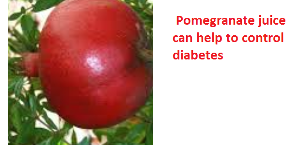Health Benefits of Pomegranate Fruit (anar fruit) juice - Pomegranate juice can help to control diabetes
