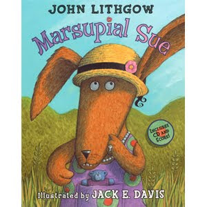 Marsupial Sue by John Lithgow and Jack E. Davis (2001, Hardcover)