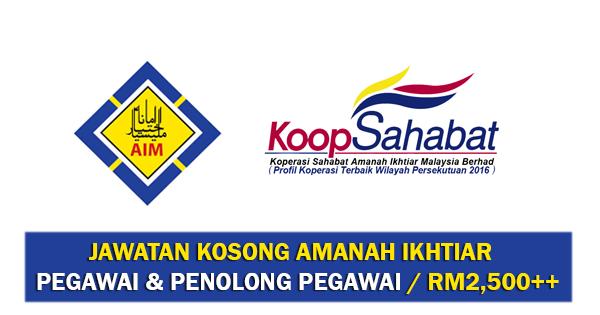 Jawatan Kosong di Amanah Ikhtiar Malaysia
