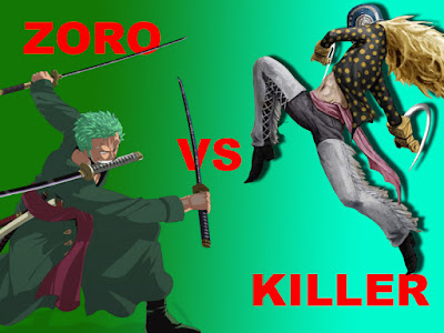 Killer vs Zoro