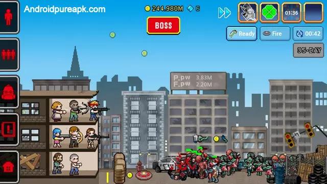 100 DAYS - Zombie Survival Mod Apk