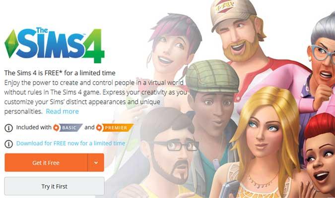 game sims 4 PC gratis