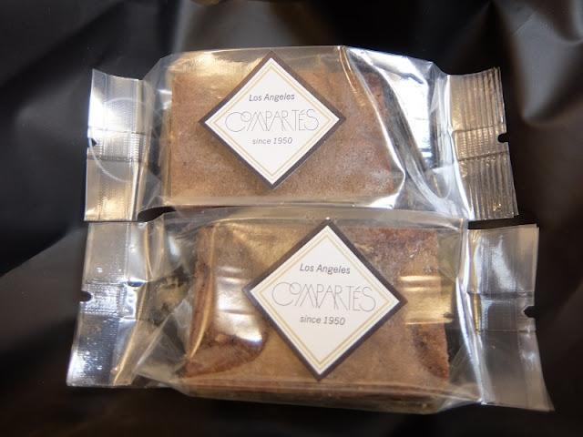 compartesのお菓子の写真です。