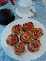 #ACOCINATE con nuestras #Caracolas para merendar. http://acocinate.blogspot.com.es/2015/08/caracolas.html