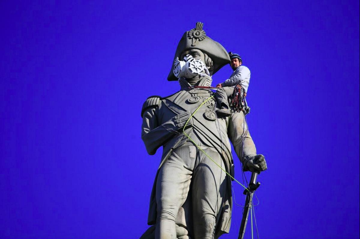 Τα αγάλματα του Ναυάρχου Νέλσον στην πλατεία Τραφάλγκαρ και του Έρωτα στο  Πικαντίλι Σέρκους c29cb67e009