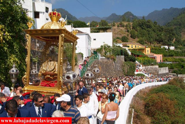 """La Bajada de la Virgen 2010 se promociona en el """"Espacio Canarias"""" de Madrid"""