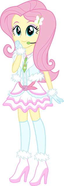 EqG Fluttershy - Winter Look