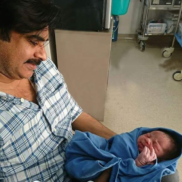 Pawan Kalyan and his wife Anna Lezhneva blessed with baby boy