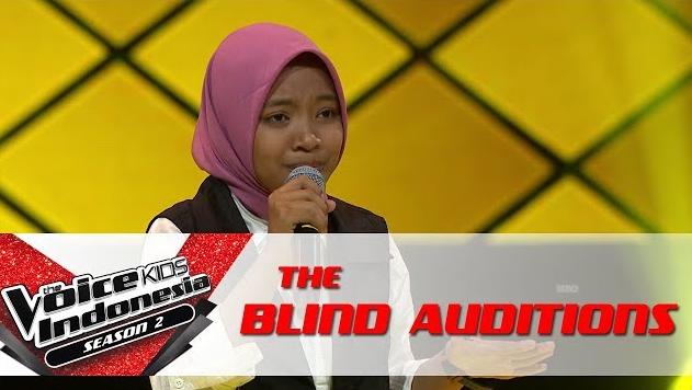 Video Viral Sharla Martiza Nyanyikan Shalawat Di The Voice Kids Indonesia