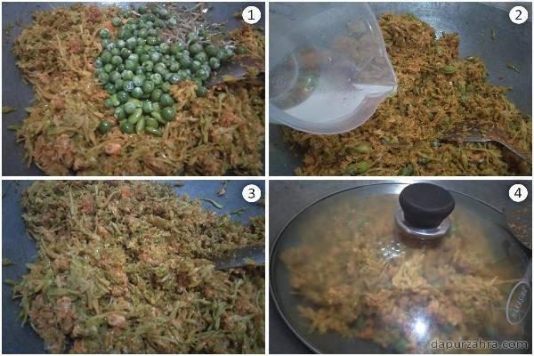 cara memasak bunga pepaya agar tidak pahit