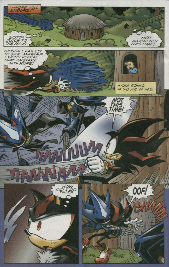 Read online Sonic The Hedgehog comic -  Issue #158 - 20