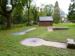 Crazy Golf in Llandrindod Wells, Wales