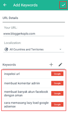 Cara Cek Posisi Artikel Blog di SERP dengan Keyword Tertentu