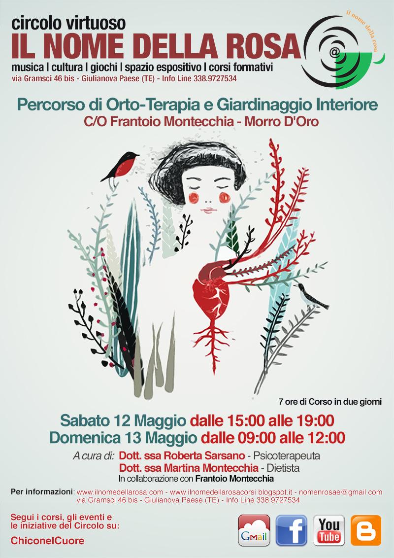PERCORSO DI ORTO-TERAPIA E GIARDINAGGIO INTERIORE