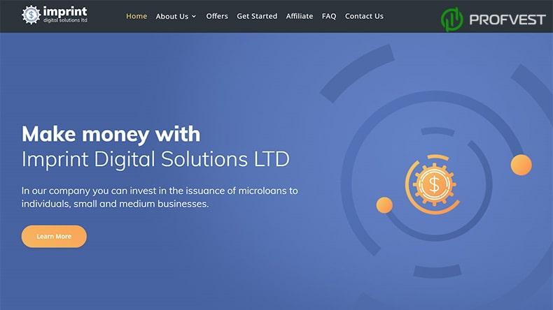 Imprint Digital Solutions обзор и отзывы HYIP-проекта