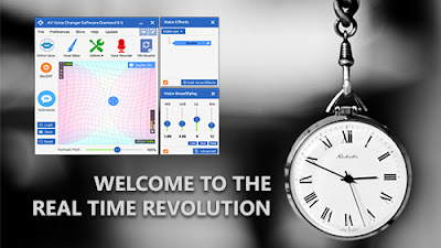 Real time voice changer for PC, Welcome to the revolution