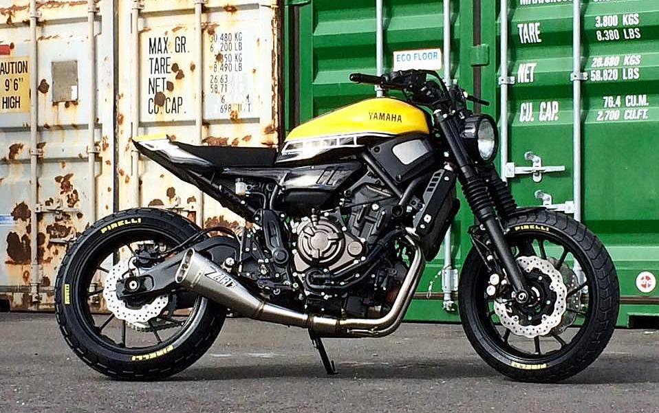 Cafe Racer XSR 700 Motomax