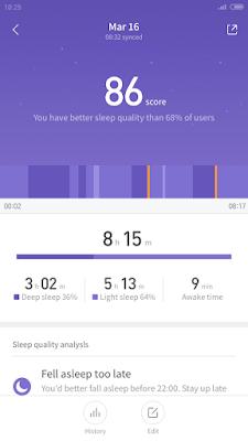 تطبيق يلاحظ نومك اثناء اليل