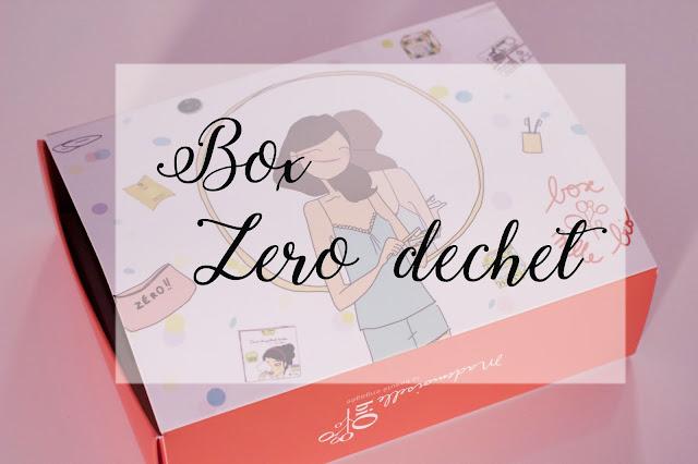 box beauté zéro déchet mademoiselle bio