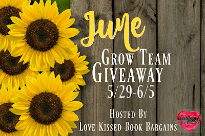 http://lovekissedbookbargains.com/2017/05/26/june-grow-team-giveaway/