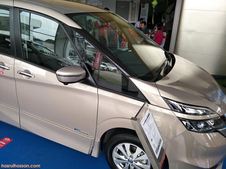 Ciri menarik ada pada Nissan Serena S-Hybrid 2018