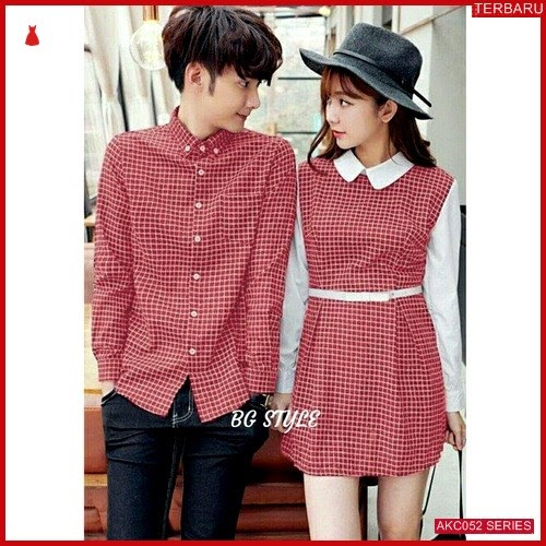 AKC052D107 Dress Couple Pasangan Anak 052D107 Kemeja Dress BMGShop