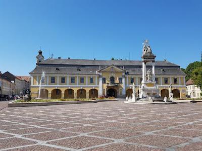 Plaza Szécheny, en Esztergom