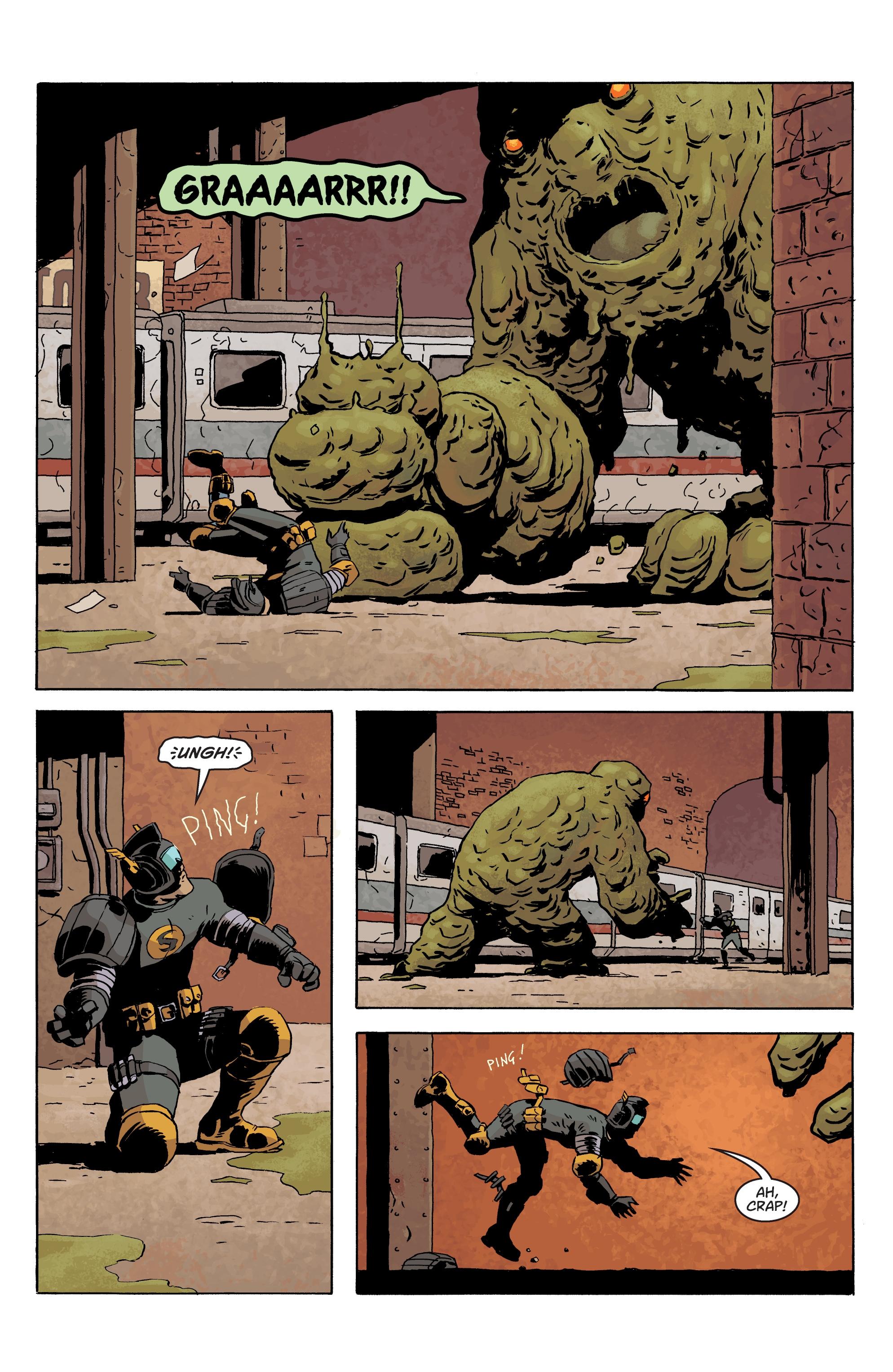 Read online Black Hammer comic -  Issue #10 - 17