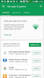 Cara update google chrome versi terbaru