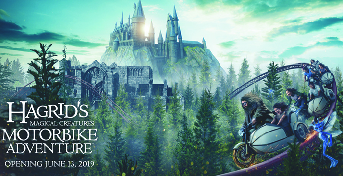 The Wizarding World of Harry Potter, Harry Potter, Universal Orlando, Hagrid's Magical Creatures Motorbike Adventure