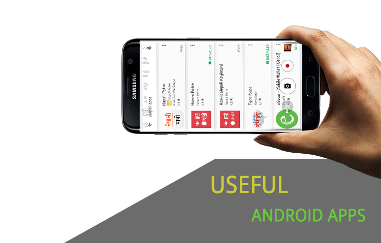 15c1a6e57f3 There are thousands of Nepali Application in Google's Play Store and  Apple's App Store. It is not possible to use all of these applications.