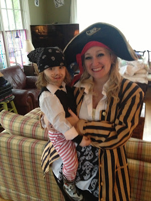 Mom and Toddler Pirate Costume