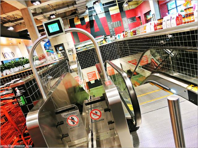 Escaleras Mecánicas para Carros en Loblaws, Toronto