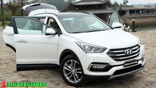Giới thiệu Hyundai SantaFe 2.4L máy xăng phiên bản đặc biệt AWD ảnh 2